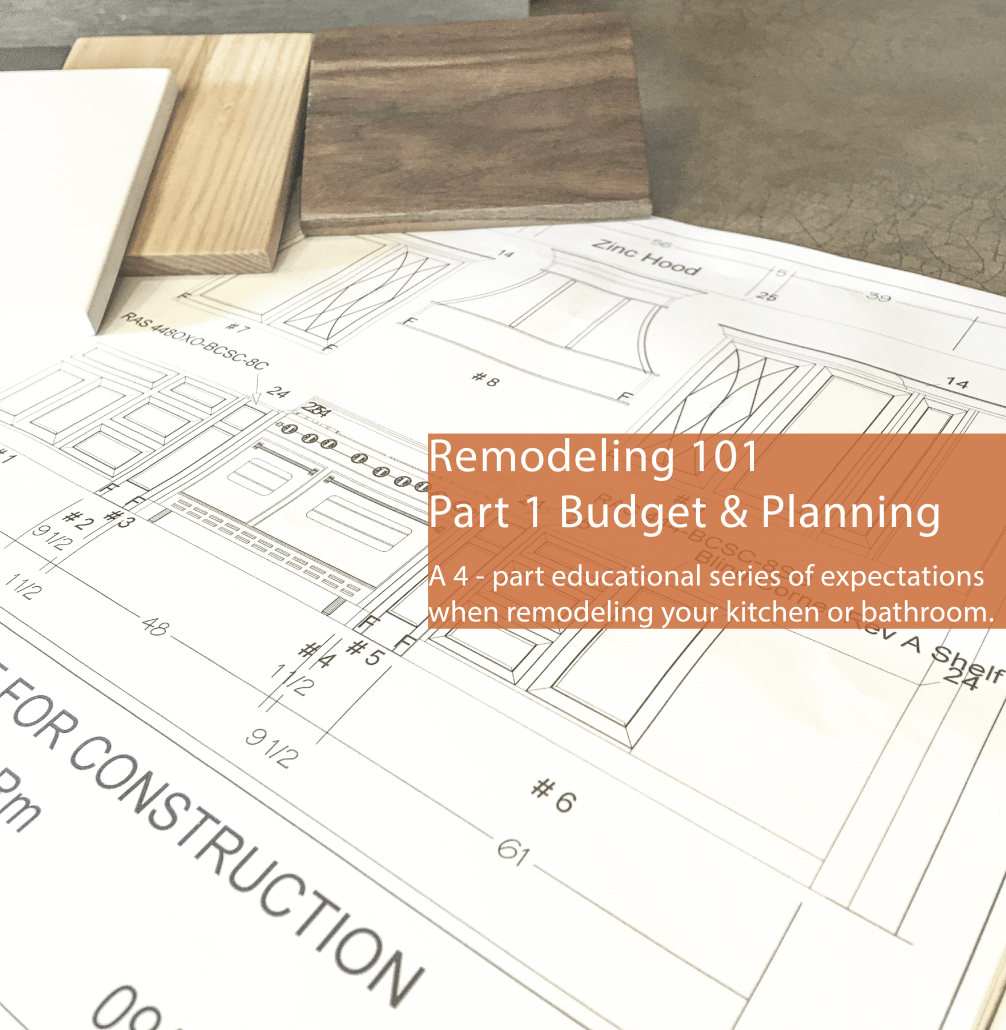 Remodeling 101 Part 1 Budgeting and Planning Remodel Budget Analysis
